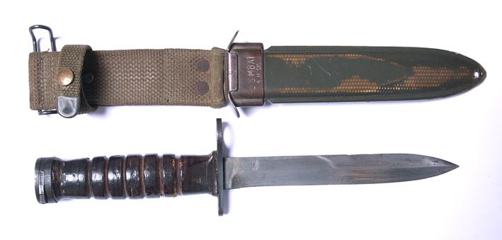 Bagnet amerykański M4 do karabinka M2 z pochwą typu M8A1