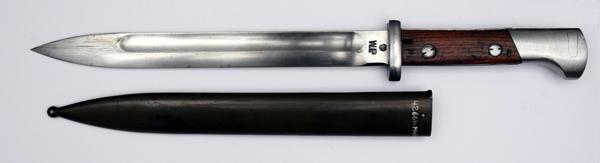 Bagnet wz.24 (późniejszy wz.27) do karabinów i karabinków Mauser wz.98