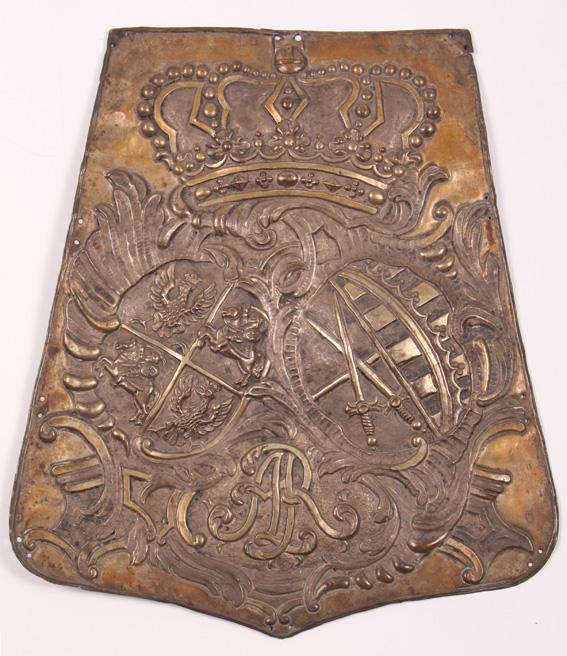 Blacha na szabeltas oddziału Augusta II Mocnego