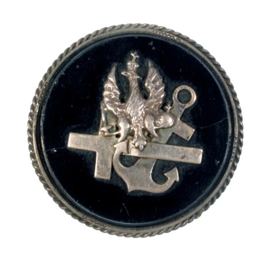Broszka srebrna (biżuteria patriotyczna)