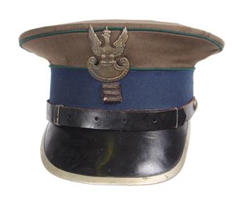 Czapka garnizonowa wz. 36 plutonowego Korpusu Ochrony Pogranicza