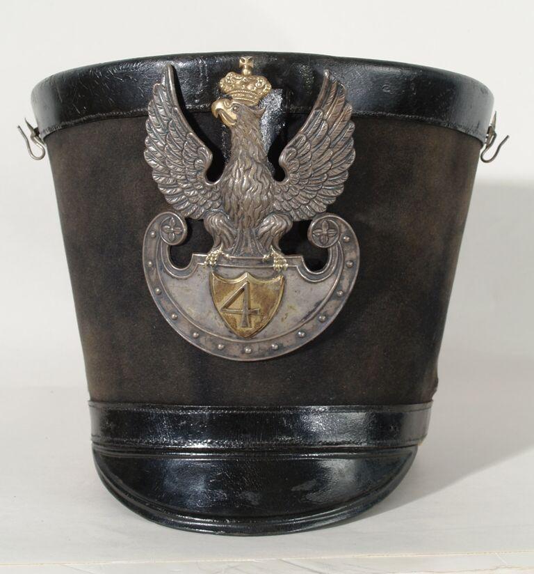 Czapka oficera wyższego 4 pułku piechoty liniowej