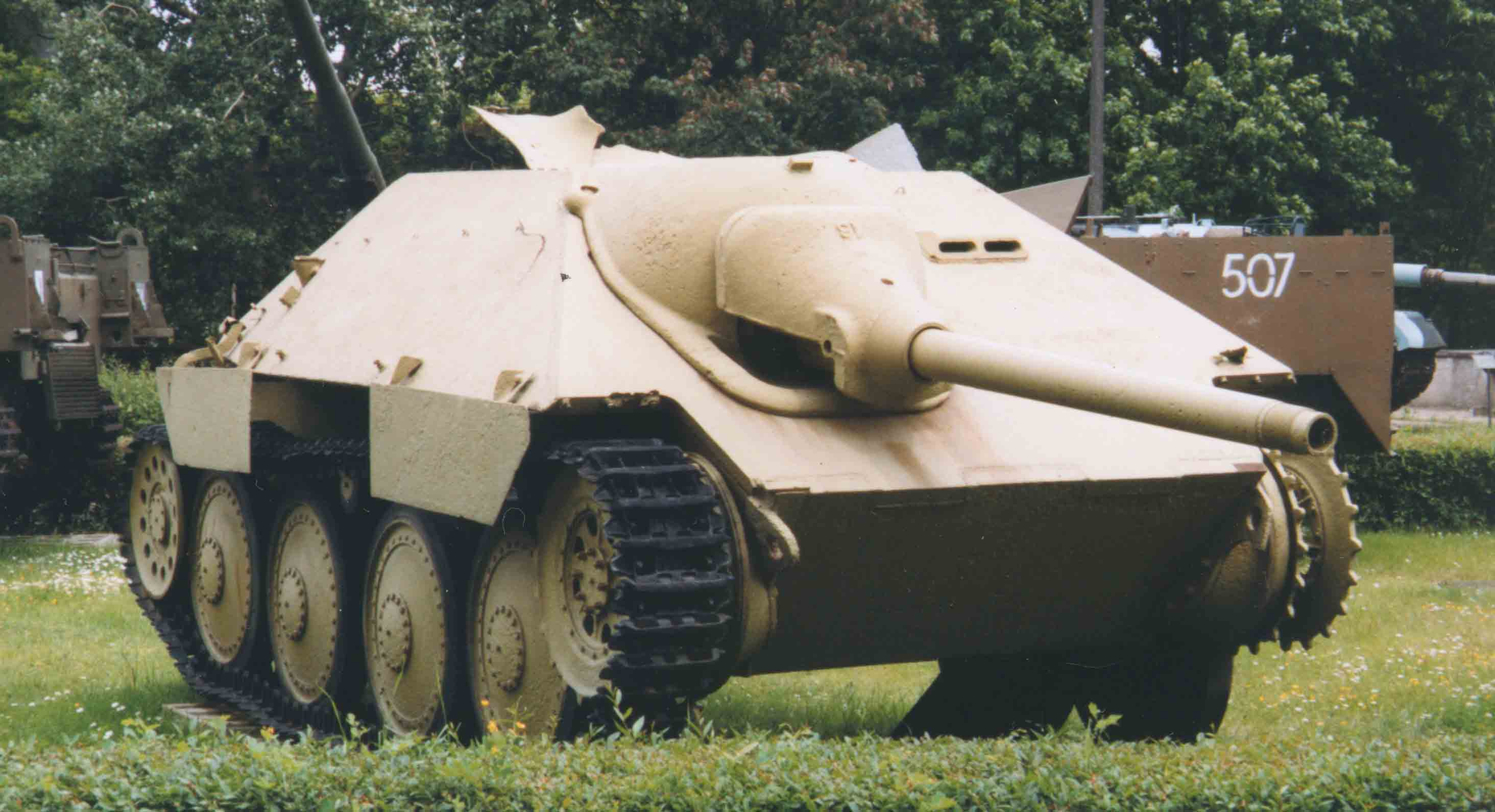 """Działo samobieżne Jagdpanzer 38 (t) """"Hetzer"""""""