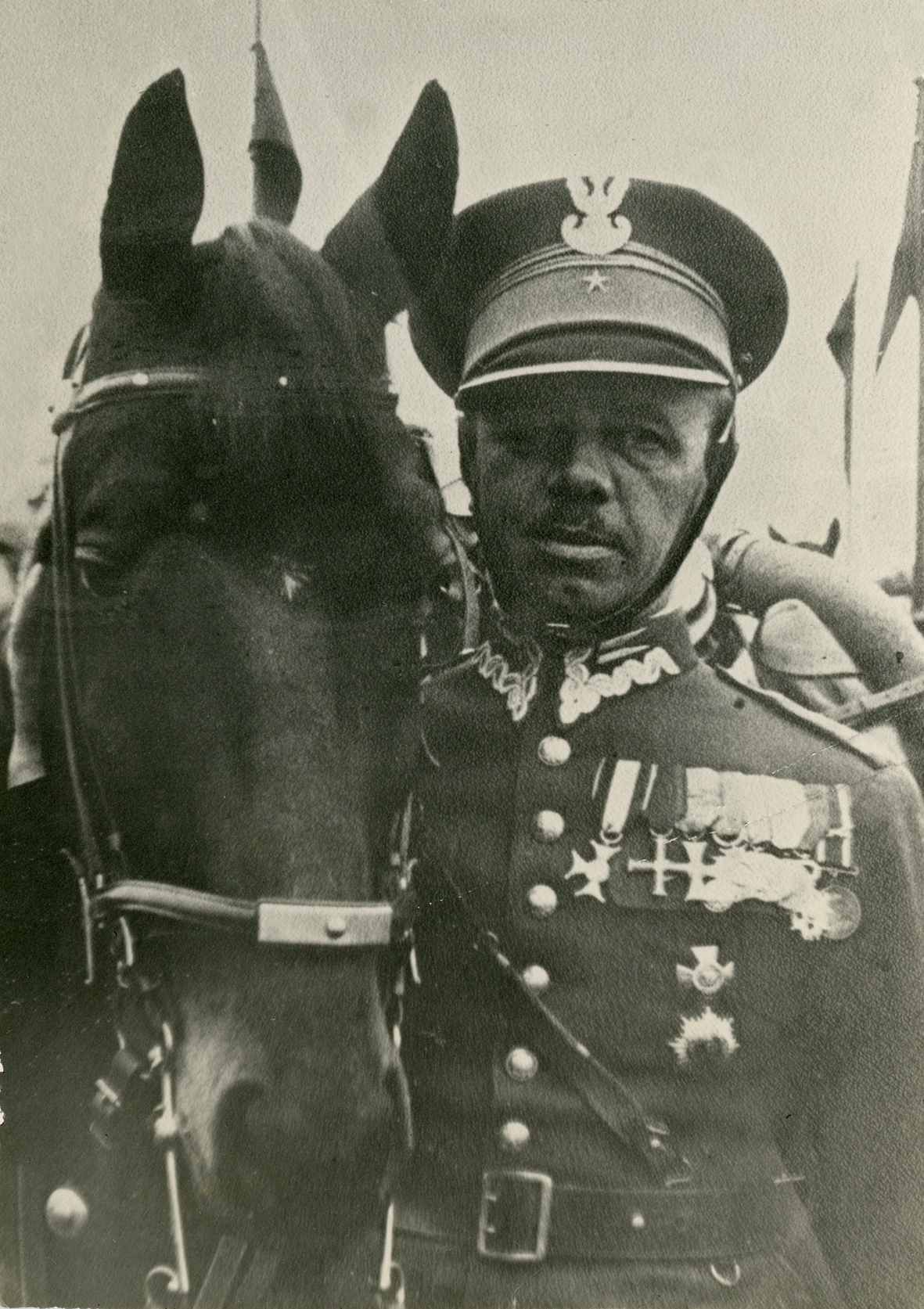 Fotografia majora Wacława Kryńskiego