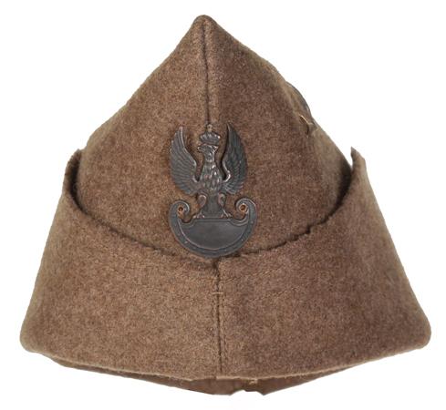 Furażerka kapitana Armii Polskiej we Francji 1939-1940 r.