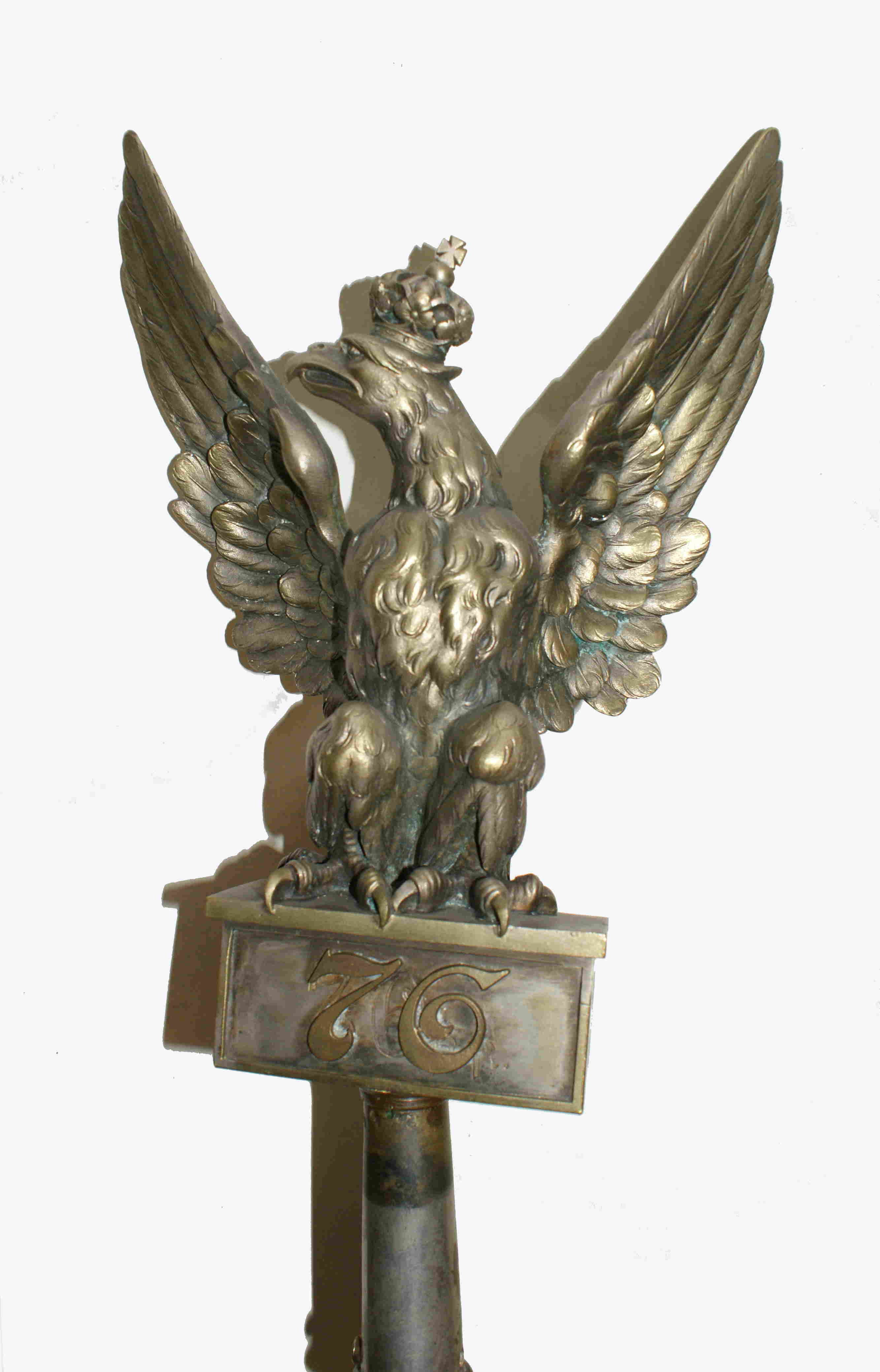 G�owica sztandaru 76. pu�ku piechoty im. Ludwika Narbutta z Lidy