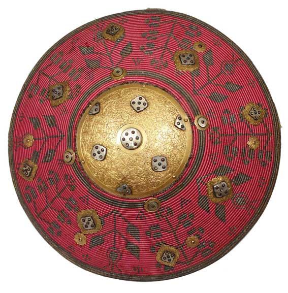 Kałkan paradny (dekoracyjny) pancerny