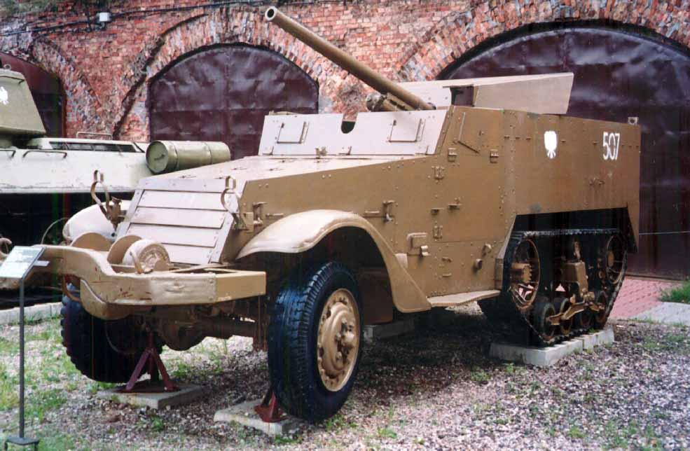 Lekkie działo samobieżne SU-57 (T-48)