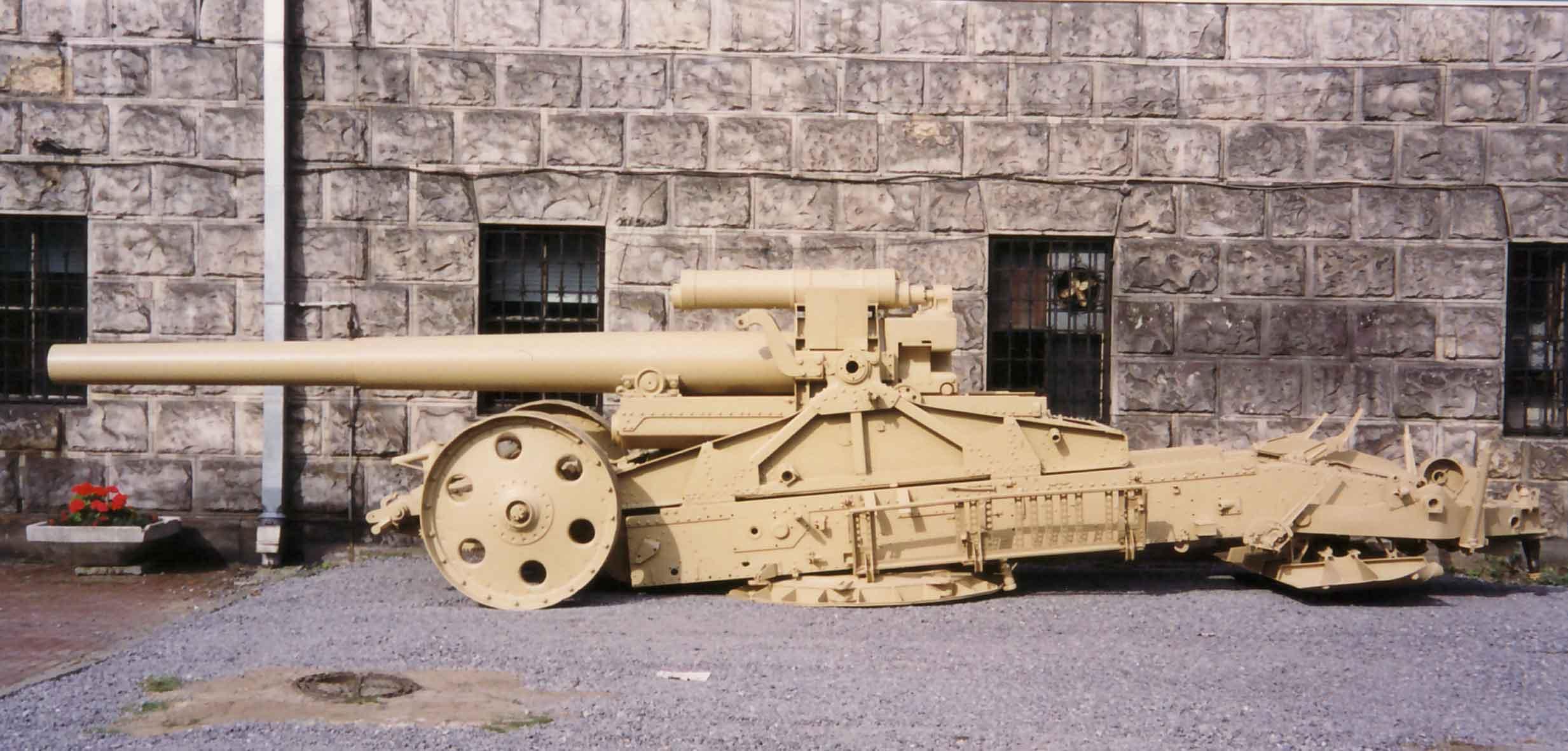 Moździerz 21 cm Mörser 18