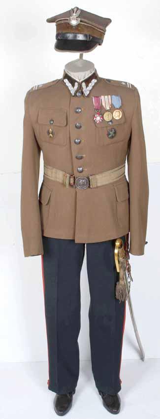 Mundur galowy wzór 1936 majora artylerii ciężkiej