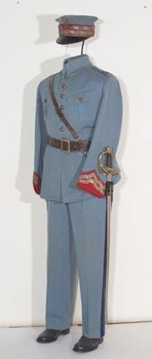 Mundur generała Józefa Hallera z lat 1918-1919