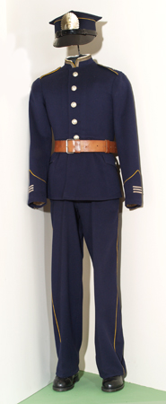 Mundur kadeta z Korpusu Kadetów nr 1 Marszałka Józefa Piłsudskiego w Lwowie