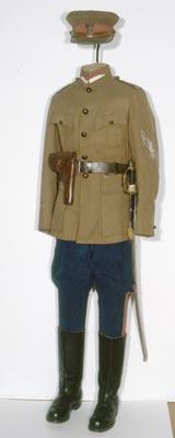 Mundur porucznika 1. pułku ułanów krechowieckich