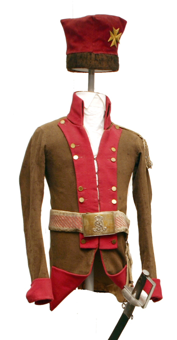 Mundur Towarzysza Kawalerii Narodowej, lata 1790-1794
