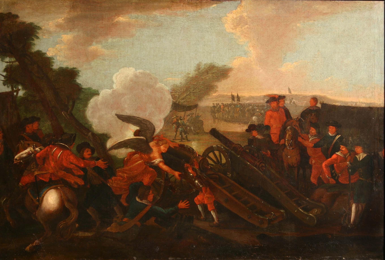 "Obraz ""Bitwa pod Kliszowem 19.VII.1702"""