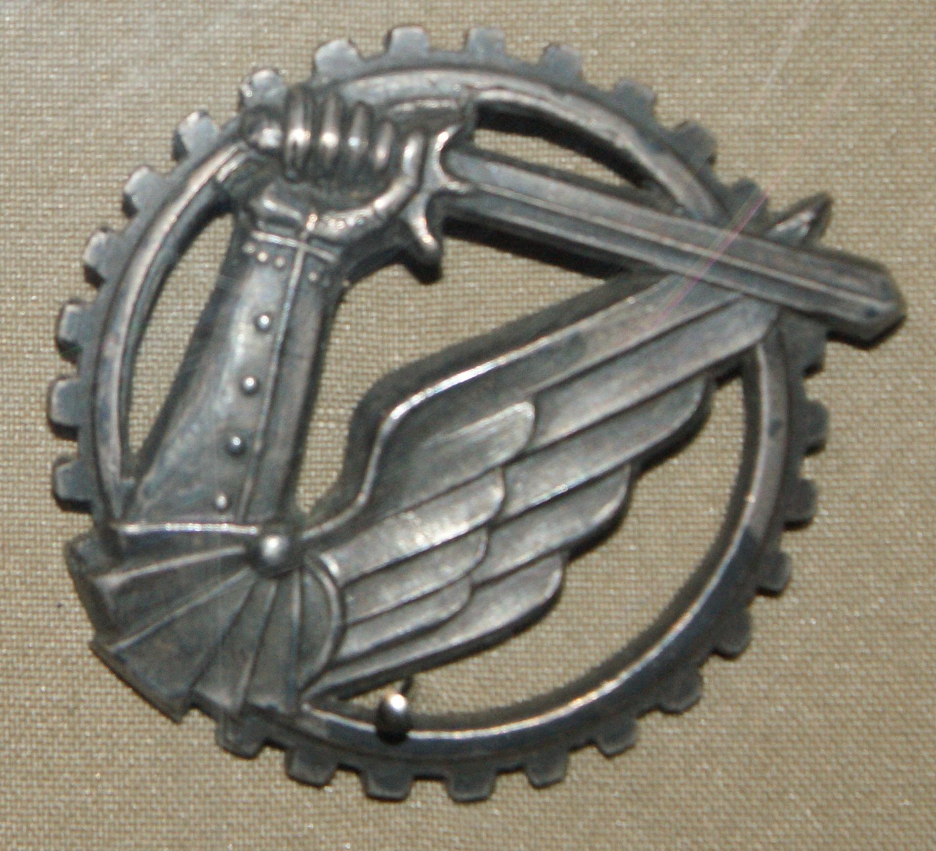 Odznaka pamiątkowa znak pancerny
