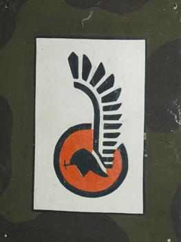 Oznaka rozpoznawcza na pojazd 1. Dywizji Pancernej