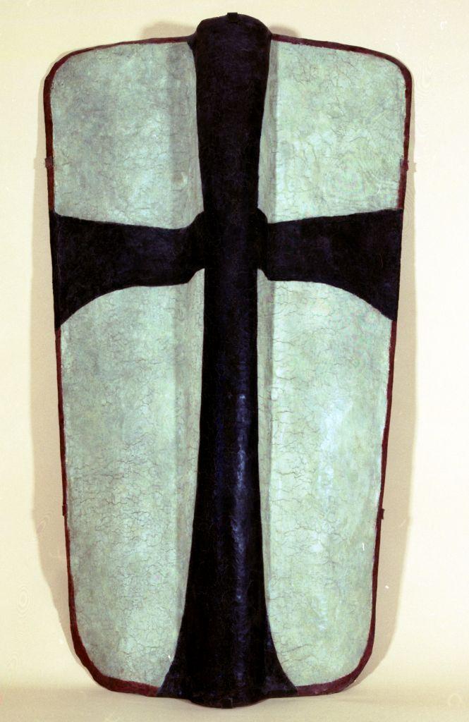 Pawęż krzyżacka (trapezowata)