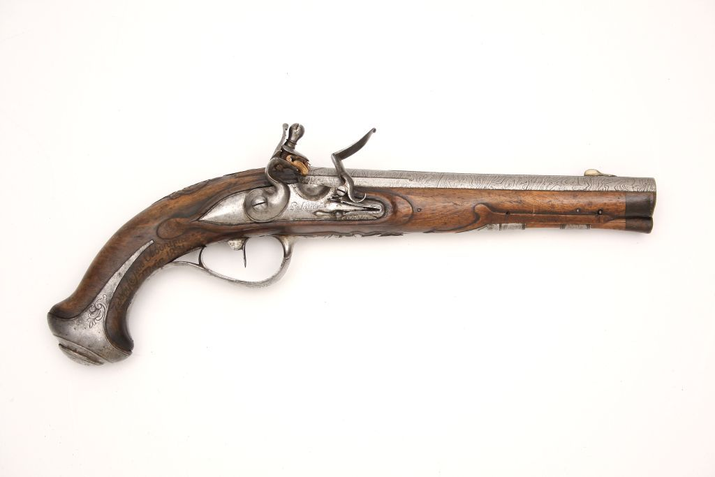 Pistolet skałkowy zdobyty w 1831 roku na Wołyniu