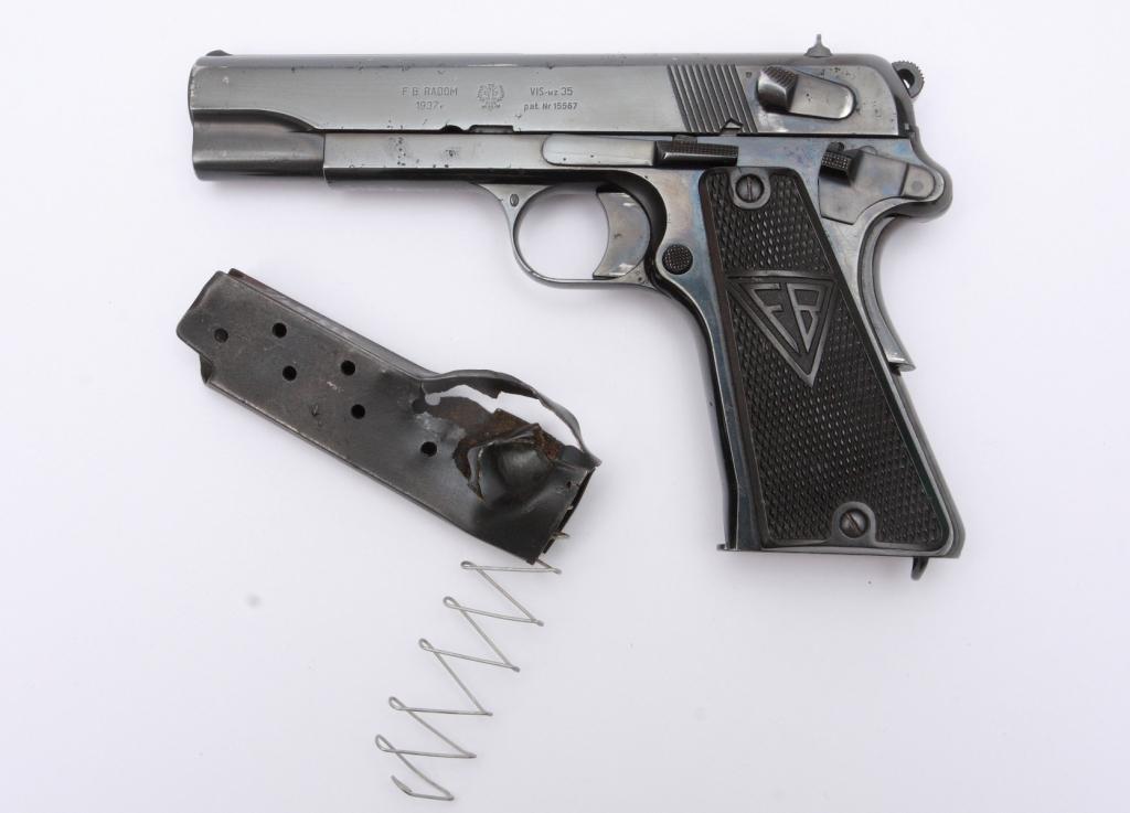 Pistolet VIS wz.35 majora Włodzimierza Strzałkowskiego