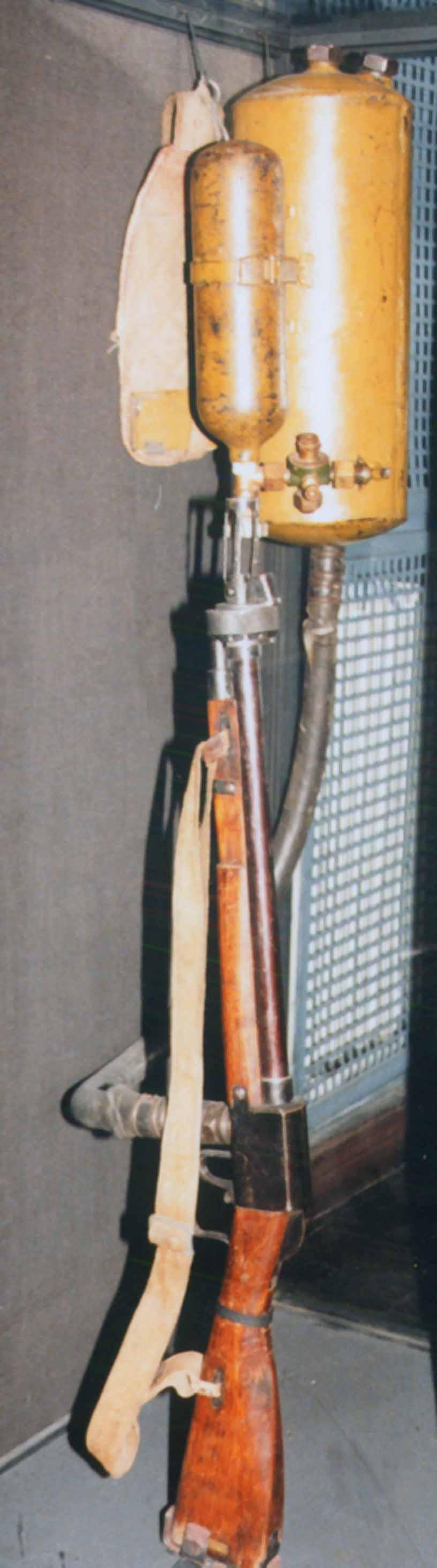 Plecakowy miotacz ognia ROKS-3