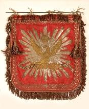 Płomień do trąbki pułku Szwoleżerów Gwardii 1806-15