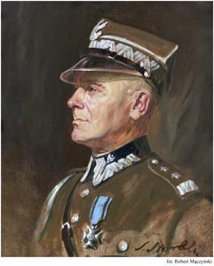 Portret Edwarda Śmigłego - Rydza