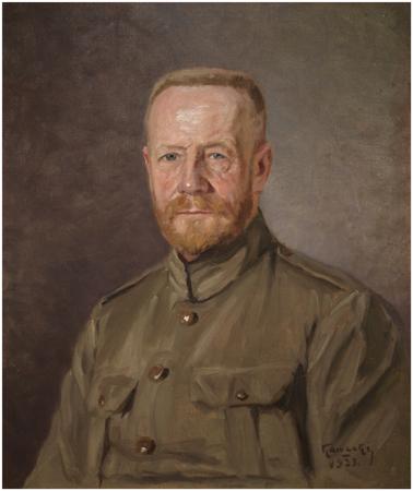 """Portret """"generał broni Lucjan Żeligowski…"""", mal. R. Kawecki"""