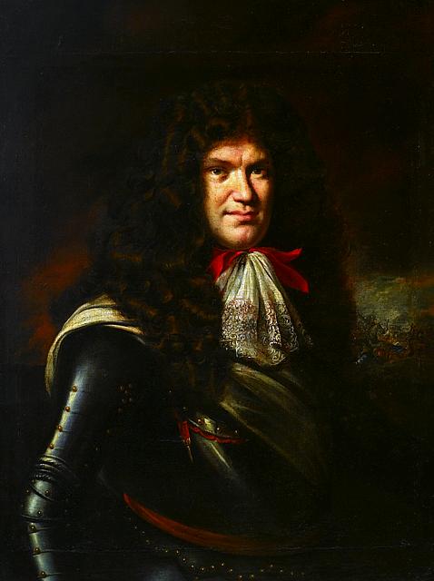 """Portret """"Generał Marcin Kazimierz Kątski (1636 - 1710)"""""""