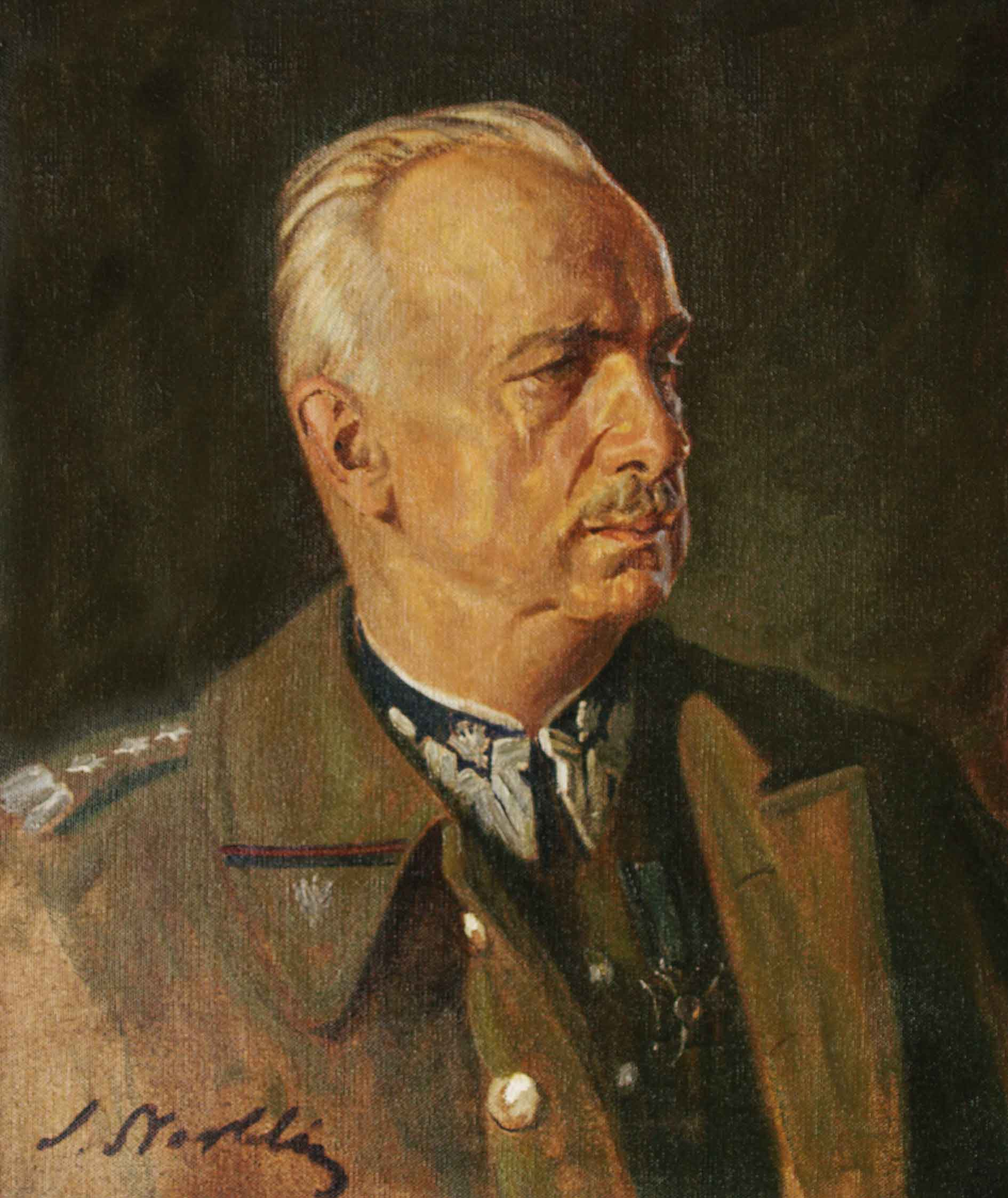 Portret genera�a broni Kazimierza Sosnkowskiego