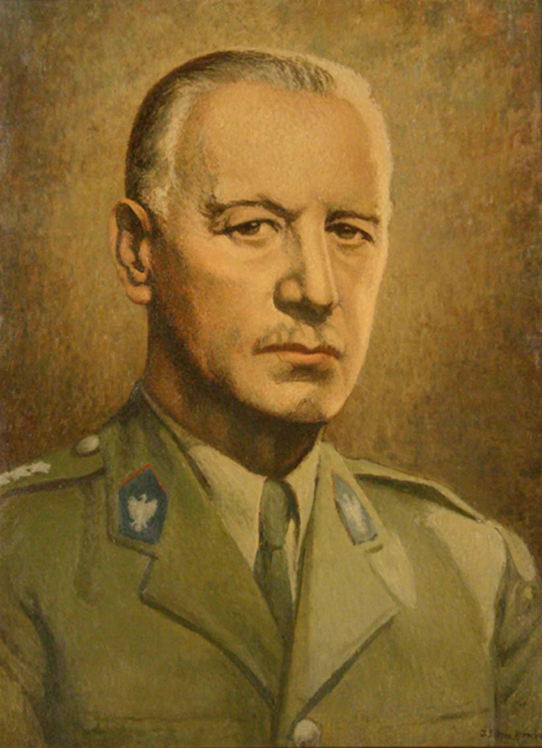 Portret generała broni Władysława Sikorskiego