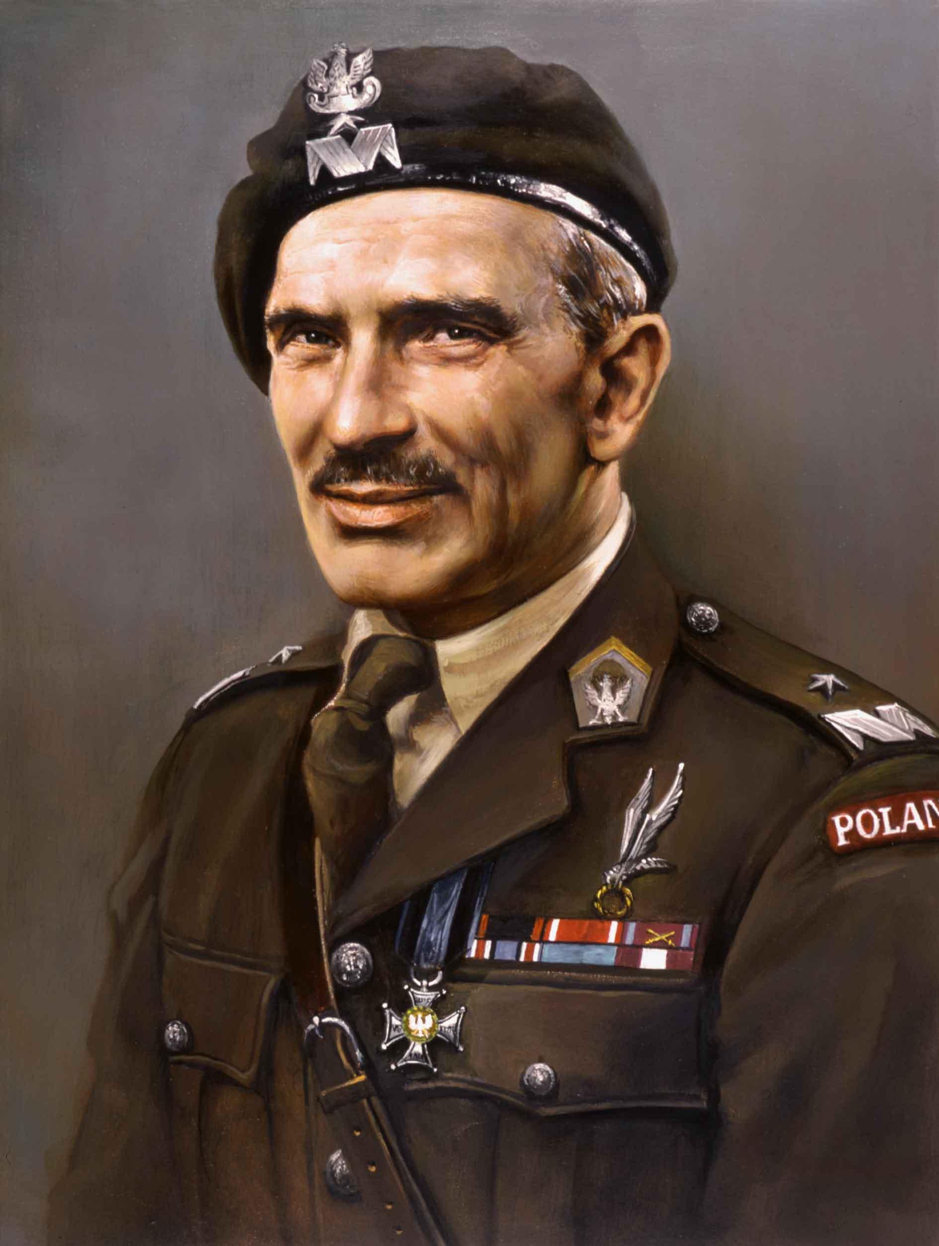 Portret genera�a brygady Stanis�awa Sosabowskiego