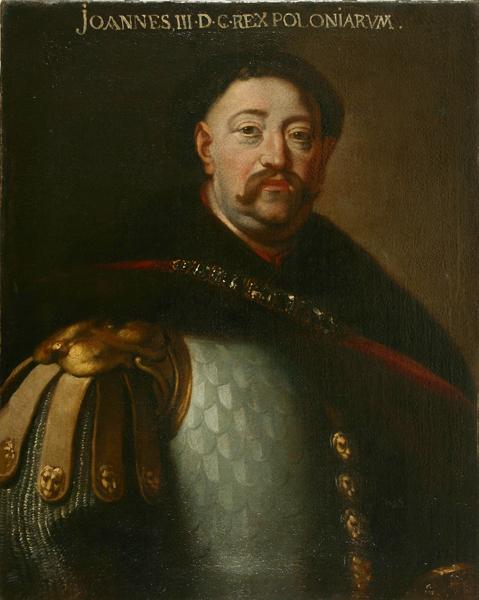 Portret króla Jana III Sobieskiego z XVII wieku