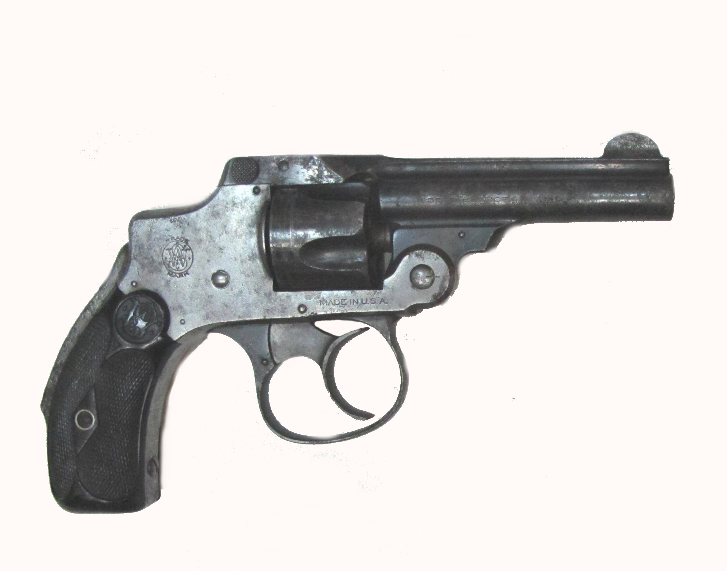 Rewolwer Smith & Wesson Hammerless Safety kal. 0,32 cala