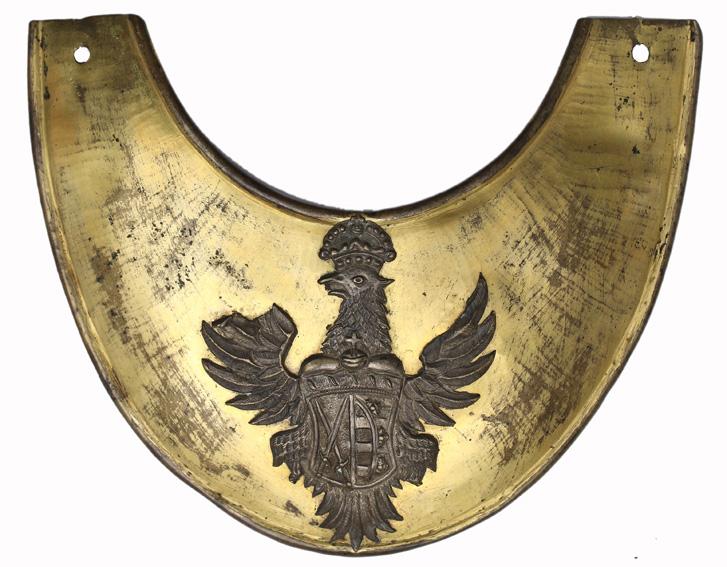 Ryngraf oficera piechoty koronnej z pierwszej połowy XVIII wieku
