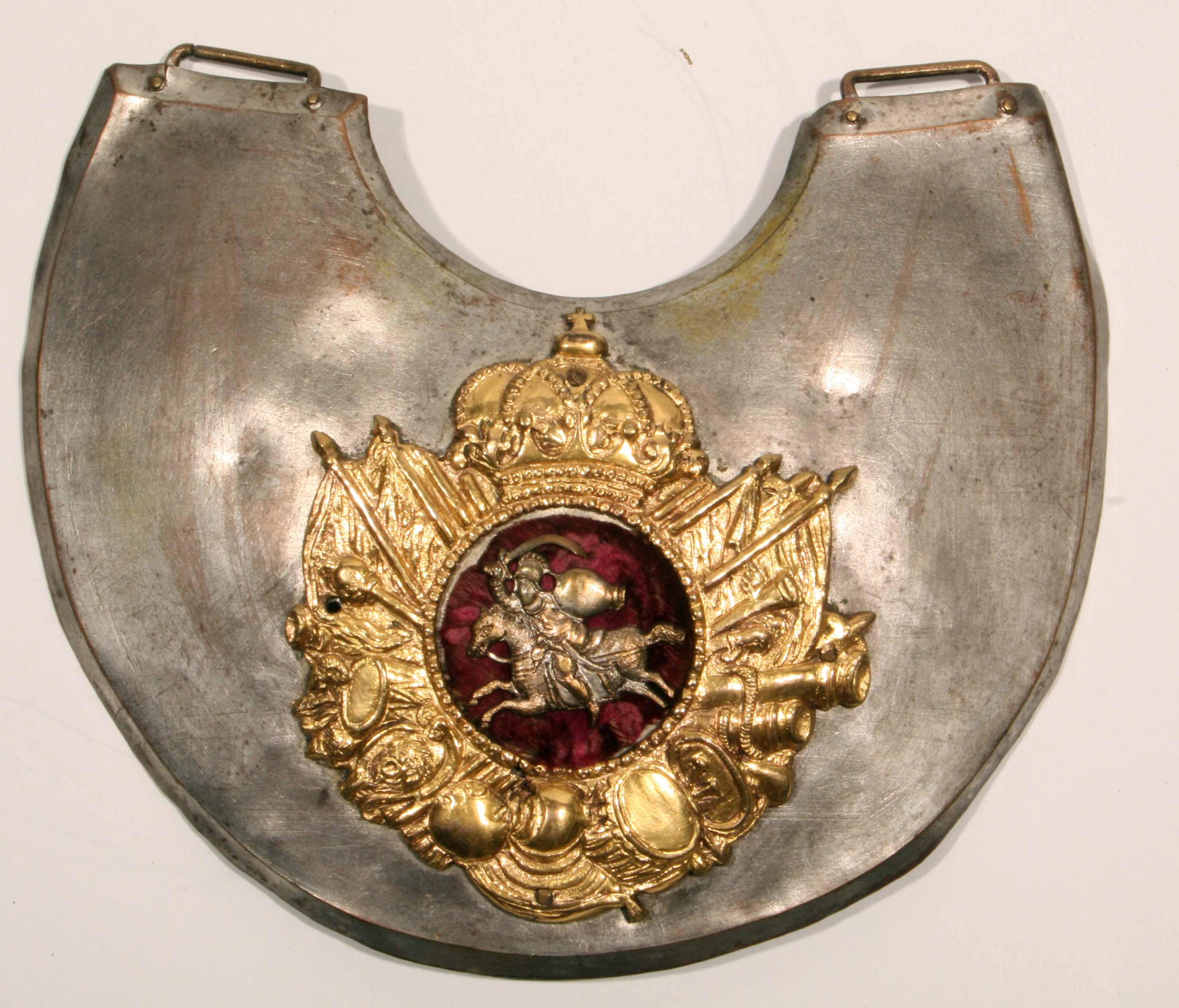 Ryngraf oficera piechoty Wielkiego Księstwa Litewskiego z pierwszej połowy XVIII wieku
