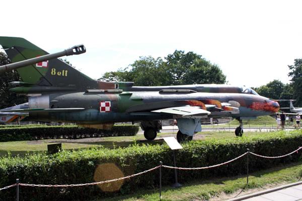 Samolot my�liwsko bombowy Su -22M4 Suchoj 22