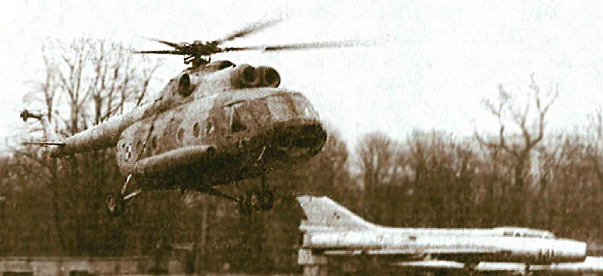 Śmigłowiec wielozadaniowy MI-8T