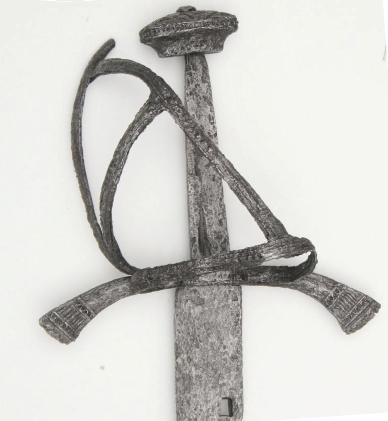 Szabla, XVI wiek; znaleziona koło Tolkmicka