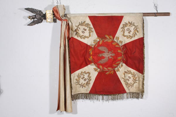 Sztandar 20. pułk ułanów im. króla Jana III Sobieskiego z Rzeszowa