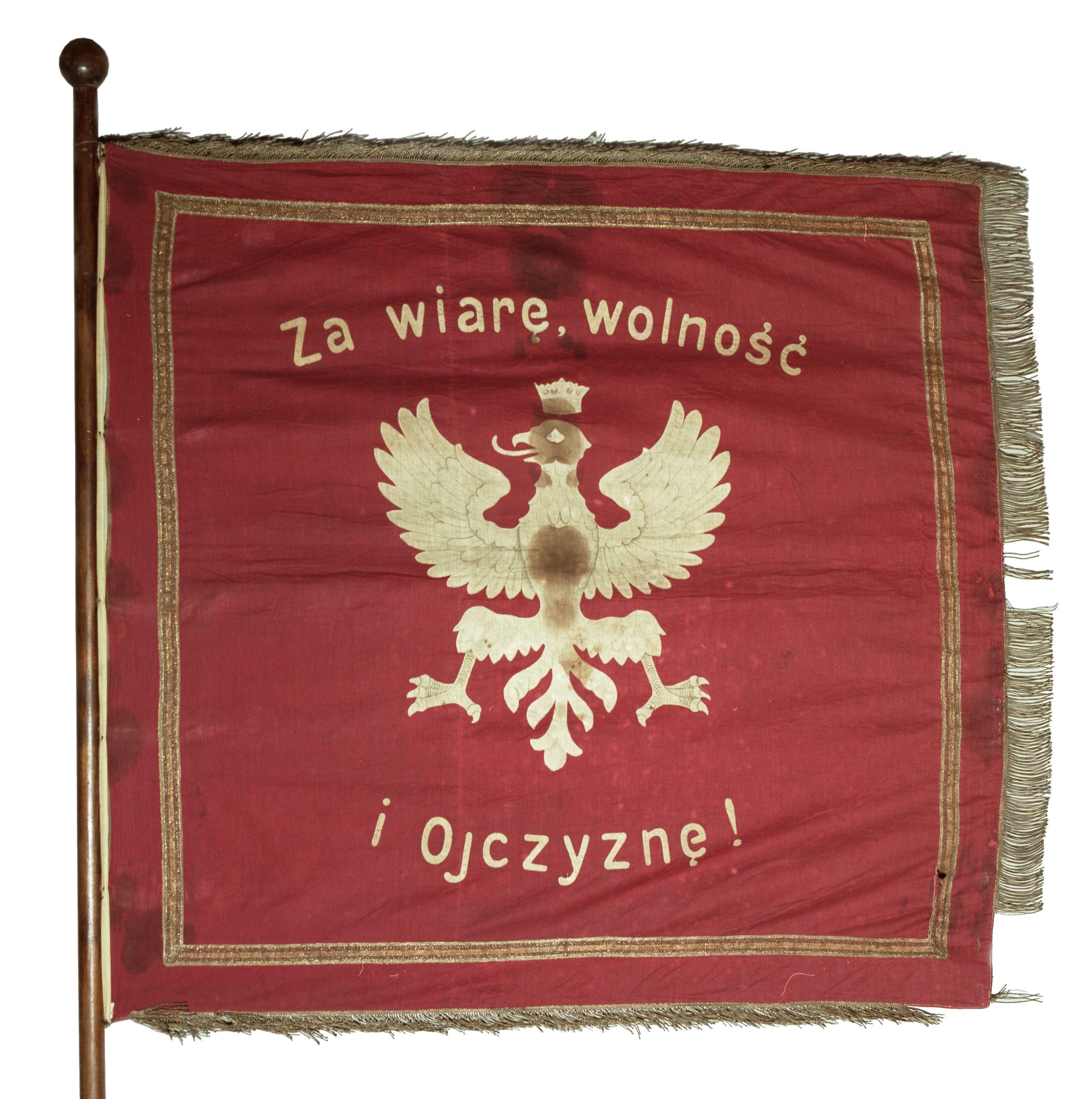 Sztandar oddziału powstańców śląskich