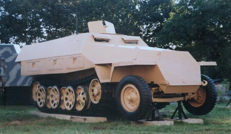 Transporter opancerzony Sd.Kfz. 251
