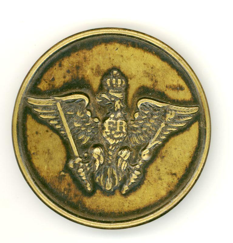 Trofeum z III Powstania Śląskiego; emblemat z niemieckiej sygnałówki