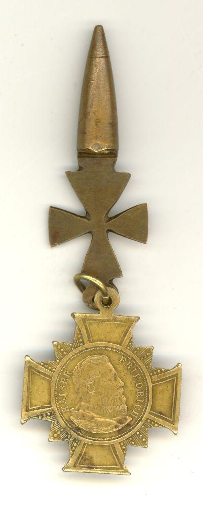 Trofeum z III Powstania Śląskiego; niemiecka odznaka pamiątkowa