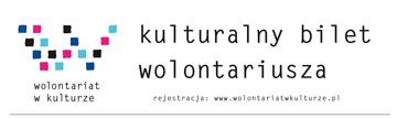 Kulturalny Bilet Wolontariusza – I edycja - 62 instytucje, 12 miast, ponad 2 tysiące biletów