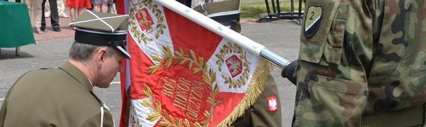 Uroczyste przekazanie obowiązków dowódcy 2 Mazowieckiego Pułku Saperów