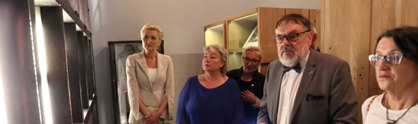 Pierwsze Damy Republiki Czeskiej i Rzeczypospolitej Polskiej w Muzeum Katyńskim