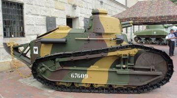 """""""Czołg zwycięstwa – Renault FT-17"""" w Muzeum WP"""