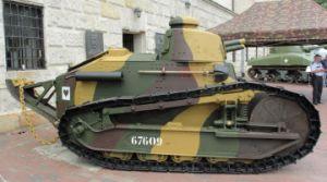 """""""Czo�g zwyci�stwa – Renault FT-17"""" w Muzeum WP"""