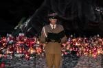 1 sierpnia - Uroczystości na Cmentarzu Powstańców Warszawy przy Pomniku Polegli Niepokonani